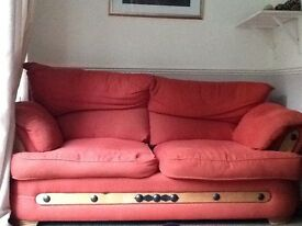 2 seater sofa free collection only