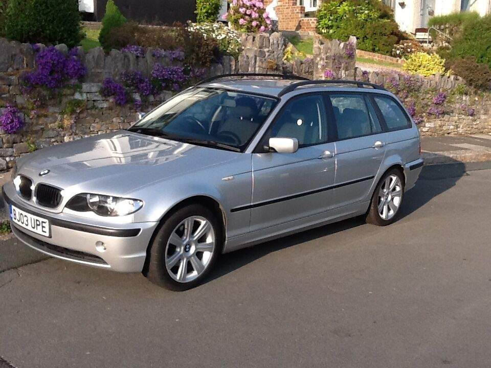 2003 bmw 320d touring full service history stunning condition in plymouth devon gumtree. Black Bedroom Furniture Sets. Home Design Ideas