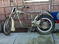 Bultaco chassis, W reg. For spares