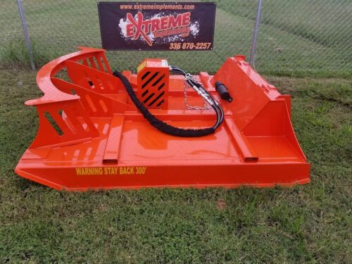 "72""  XBC-7 Extreme Skid Steer Brush Cutter-3 Blade--DIRECT DRIVE--100% USA MADE"