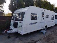 2011 Bailey Pegasus 524 4 berth caravan FIXED BED, VGC, MOTOR MOVER, Awning !
