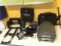 Oxygenator : Sequal Eclipse 3 Oxygenator complete with 2 batteries, charger, bags, and trolley