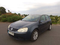 2005 golf mk5 1.9 tdi one owner from new service history long mot