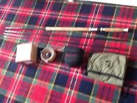 Salmon fly rod and reel new unused