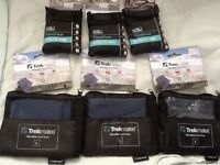 Set of 6 Large & Medium Trekmates Microfibres Travel Towels FREE POSTAGE BRAND NEW STOCK CLEARANCE