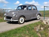 Morris Minor 1000 1962 (June) 4 door saloon grey