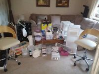 Complete Home/Mobile Nail Tech Kit