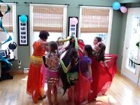 SO YOU THINK YOU CAN BELLY DANCE PARTIES FOR LADIES AND CHILDREN