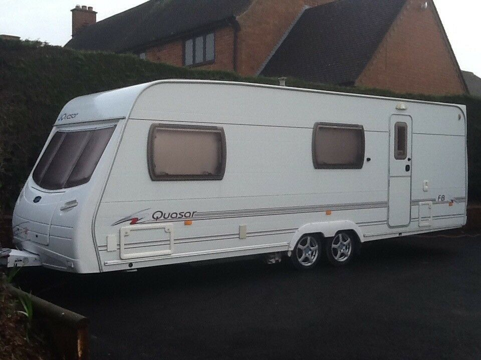 6 Berth Twin Axle Touring Caravan For Sale With Motor