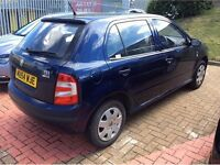 2004/54 Skoda Fabia 1.2i (VW Polo) - Exceptionally Low Mileage with Full Service History
