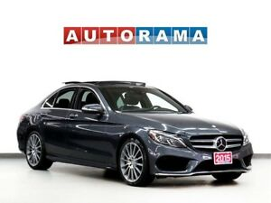 2015 Mercedes-Benz C-Class NAVIGATION LEATHER PAN SUNROOF 4WD BA