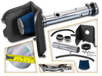 Heat Shield Cold Air Intake Kit + BLUE Filter for 05-11 Tacoma 4.0L V6