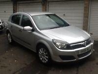2005 Vauxhall Astra 1.7 CDTI, 5 door, manual, silver, 81000 miles, 2 keys, FSH,