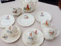 Vintage Nursery Ware Set