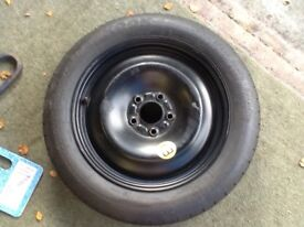 """SPACE SAVER SPARE WHEEL 16"""" FORD HARDLY USED"""