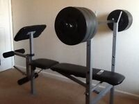 Pro fitness weight bench