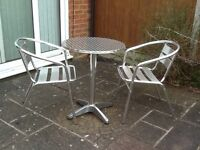 Garden/Conservatory table and chairs