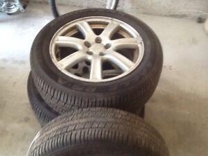 Good year tires eagle  RS-A  M+S All season P205/55 R16  89 H
