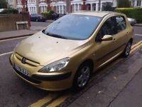 PEUGEOT 307 DIESEL SPARE OR REPAIR WOT START EED RECOVERY TO MOVE THE CAR