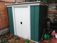 Metal Garden Shed 6x4 ft - good for bike storage