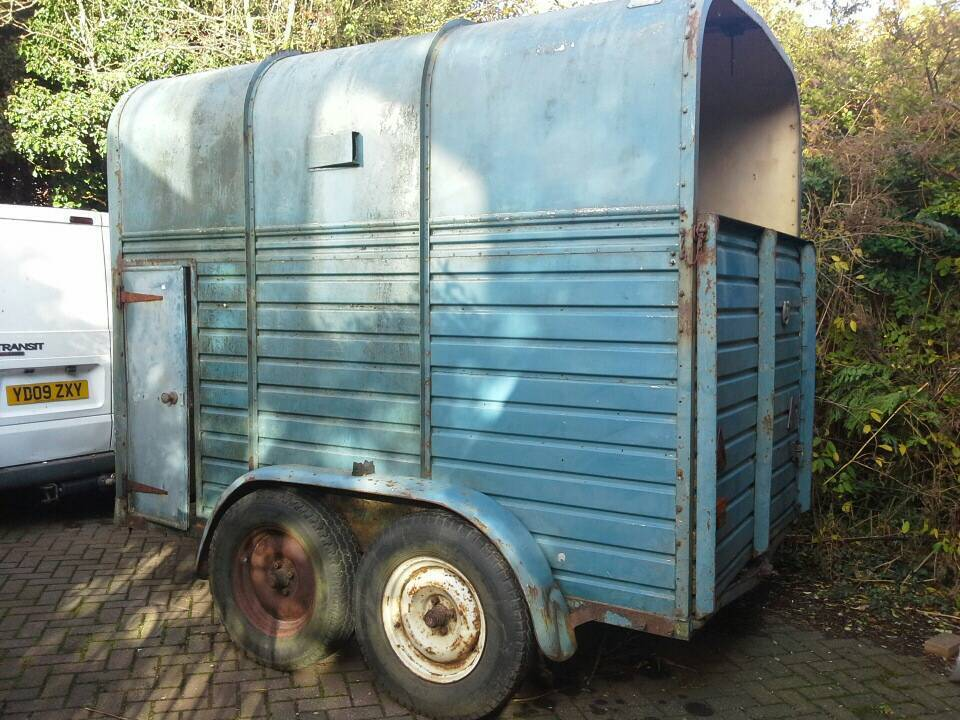 Rice Horse Trailer for spare or repair
