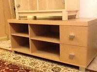Tv unit with two drws