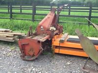 Tractor rotavator heavy duty 5ft krone made in Germany
