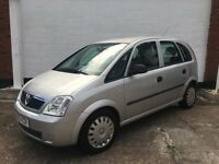 Vauxhall Meriva Life 1.4ltr 2005 good service history and new mot, lovely condition inside and out