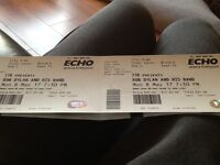 2 Bob Dylan tickets 8th May Liverpool Arena sell out show great seats