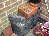 Grey textured bricks/blocks
