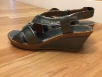 Brand new Silver Sandals Porronet