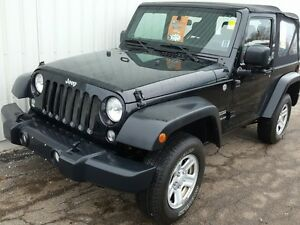 2014 Jeep Wrangler Sport MANUAL TRANSMISSION | SPORT 2 DOOR |...