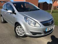 2007 VAUXHALL CORSA 1.2 CLUB LOW MILES LONG MOT READY TO GO IDEAL FIRST CAR