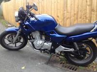 Honda CB500. 500cc 1997 motorbike. Only 21282 miles on the clock. Motd until 20th april 2018