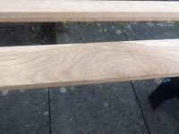 14 6 by 1 oak planks planed