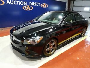 2014 Mercedes-Benz CLA-Class 4MATIC, EXECUTIVE TAN LEATHER IN...