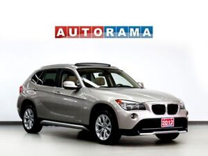 2012 BMW X1 NAVIGATION LEATHER SUNROOF 4WD