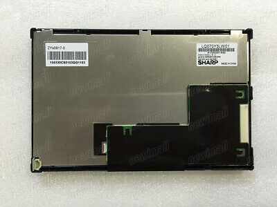 7 Inch Lq070y3lw01 Industrial Lcd Display Screen Panel For Sharp 800480