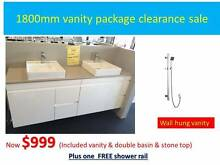 1800mm Bathroom Vanity Clearance SALE Canning Vale Canning Area Preview
