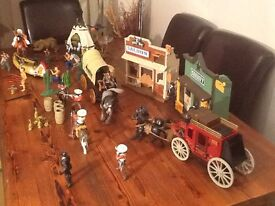 Wild West action playset for sale