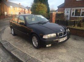 1996 BMW 318 I SE LONG MOT READ AD!£250 CHEAP CAR . DRIFT CAR PROJECT CAR ECT