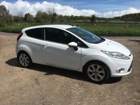 2009 Ford fiesta 1.4 zetec 1 owner mileage
