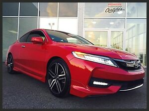 HONDA ACCORD COUPE TOURING 2016 ~ CUIR | GPS | TOIT OUVRANT | MA