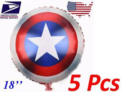 5 Pcs Captain America 18