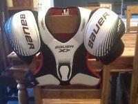 Bauer ice hockey armour