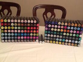 Spectrum noir Alcohol Markers & 14 Trays for sale.