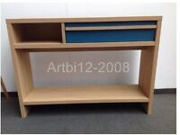 House by John Lewis Porto One Drawer Console Table