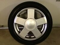 15INCH 4/108 FORD ZETEC ALLOY WHEELS WITH TYRES FIT MOST MODELS