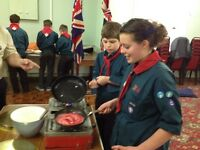 Volunteer work with Scouts age 10-14 in Sandhurst