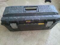 """Stanley fatmax 28"""" toolbox"""